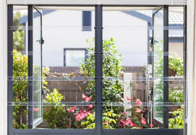 transparent burglar bars for residential use