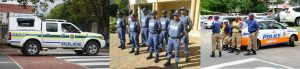 South African Police uniforms and vehicle markings