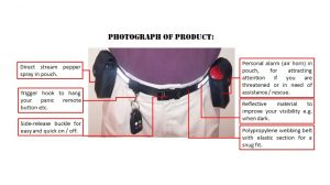self defence belt